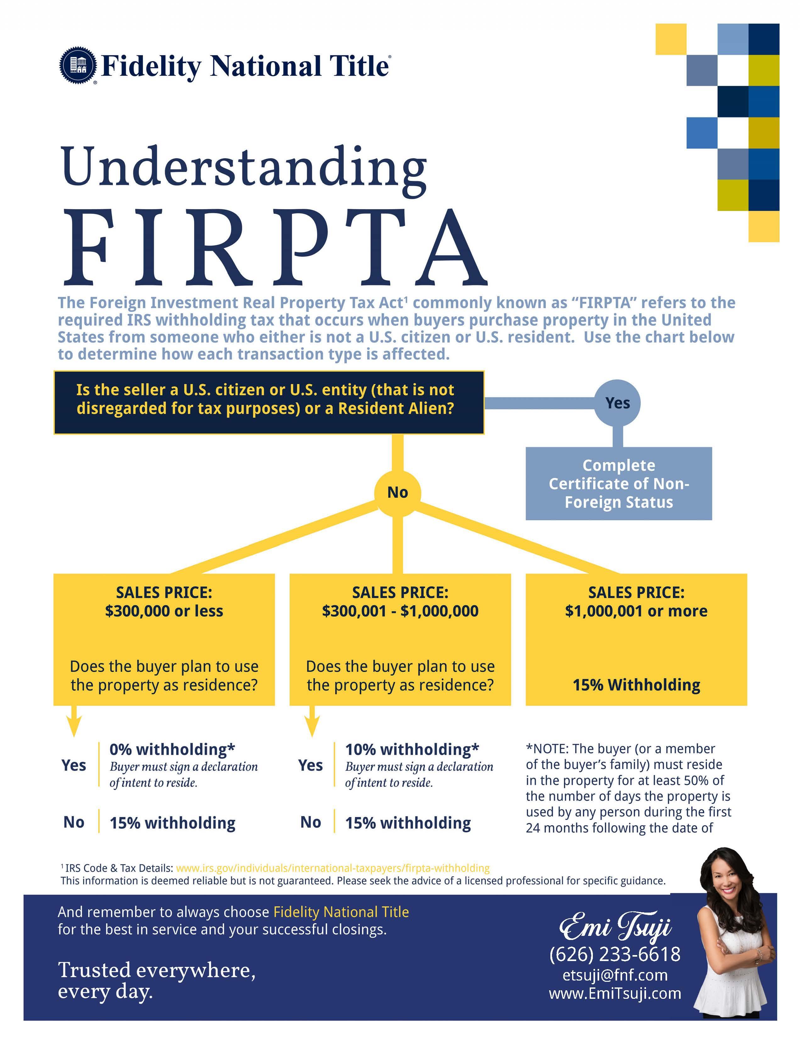 FIRPTA Diagram
